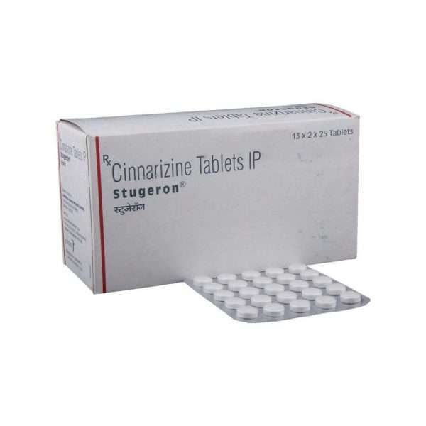 stugeron tablet cinnarizine 25mg 1