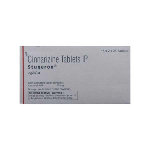 stugeron tablet cinnarizine 25mg 3