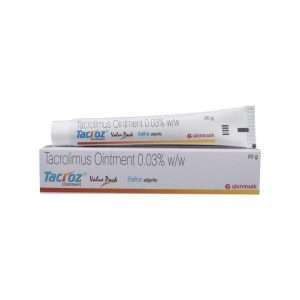 tacroz ointment tacrolimus 3 1