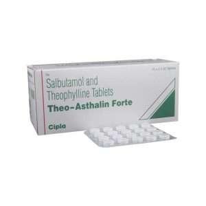 theo asthalin forte tablet salbutamol 1