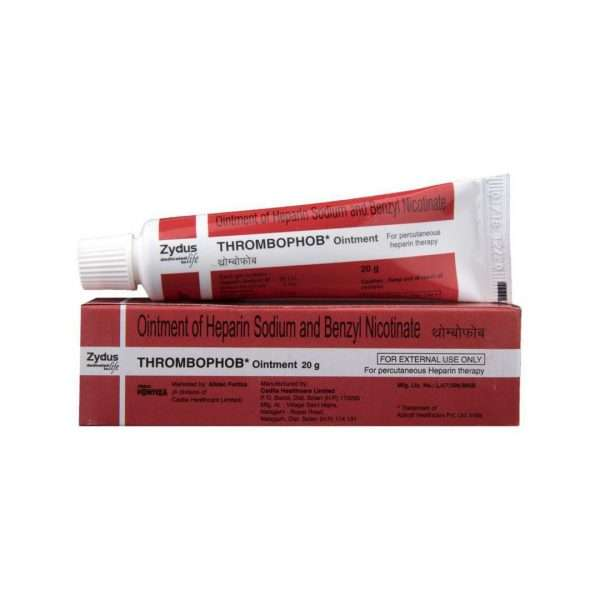 thrombophob ointment heparin sodium 20g 1
