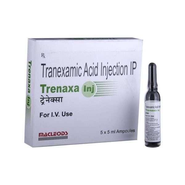 trenaxa injection tranexamic acid 500mg 2