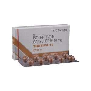 tretiva capsule isotretinoin 10mg 1