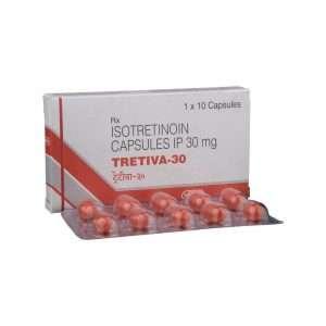 tretiva capsule isotretinoin 30mg 1