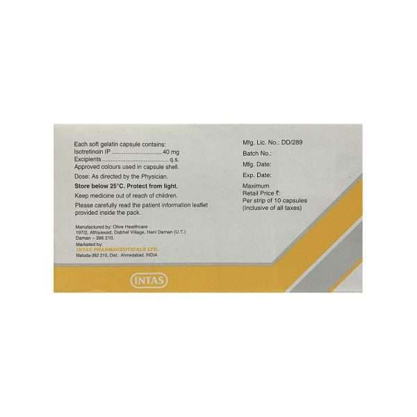 tretiva capsule isotretinoin 40mg 2