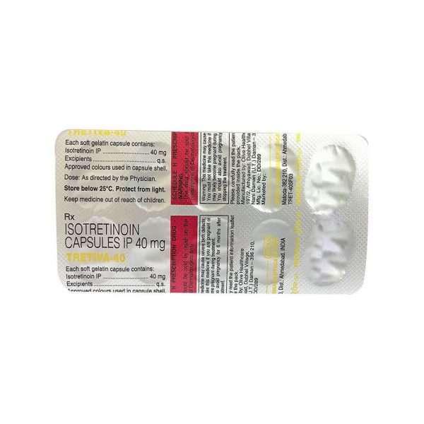 tretiva capsule isotretinoin 40mg 3