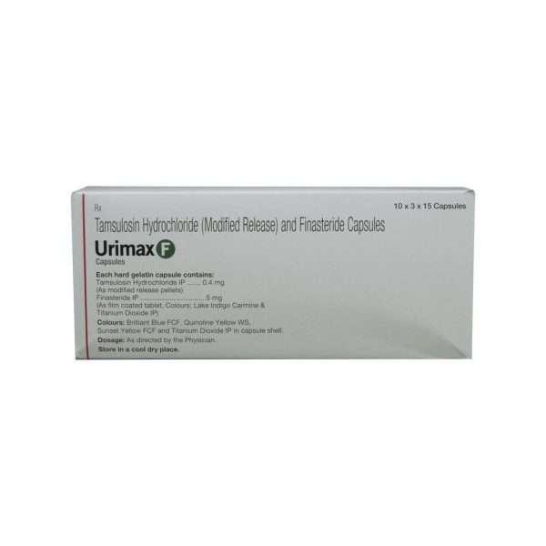 urimax f tablet tamsulosin 3