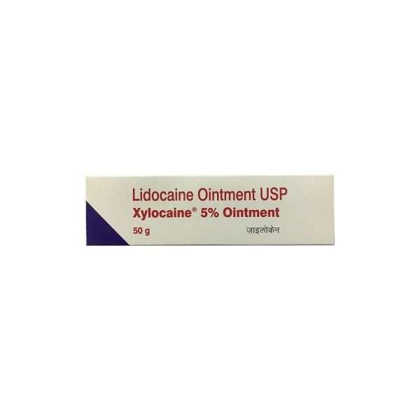 xylocaine ointment lidocaine 5 1