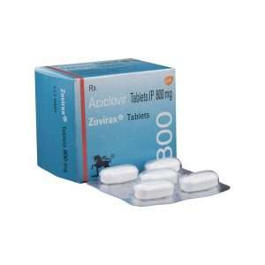 zovirax tablet acyclovir 800mg 1