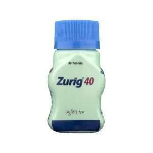 zurig tablet febuxostat 40mg 1