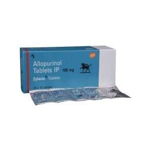 zyloric tablet allopurinol 100mg 1
