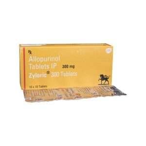 zyloric tablet allopurinol 300mg 1